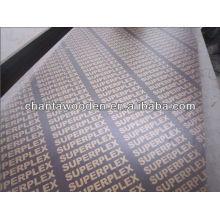 Material de construção marrom filme marinho compensado