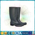 CE certification waterproof black high rain boots