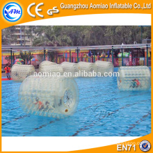 Interesting water tank float ball inflatable water roller with valve