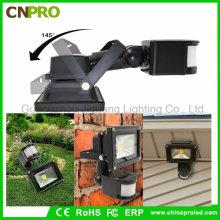 10W 20W 30W 50W PIR Sensor de Movimiento LED Flood Light