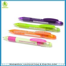 Plastic window 6 message ball pen