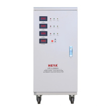 SVC Three Phase 20KVA 30KVA AC Power Automatic Voltage Regulator Stabilizers With Bypass