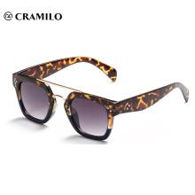Top sell metal fashionable flat sunglasses