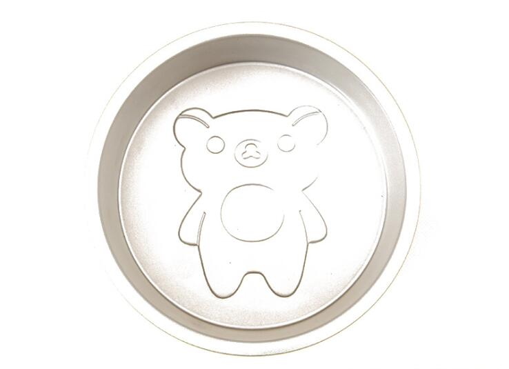 6 Inch Cartoon Bear Round Cake Mould 2