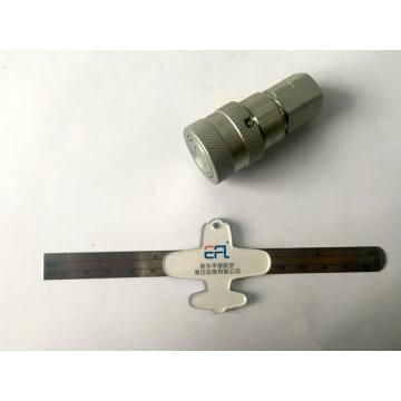 6.3 Ukuran Pipa ISO16028 Female Quick Coupling