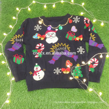 16JW53119 adult hot sale wholesale ugly christmas sweater jumper