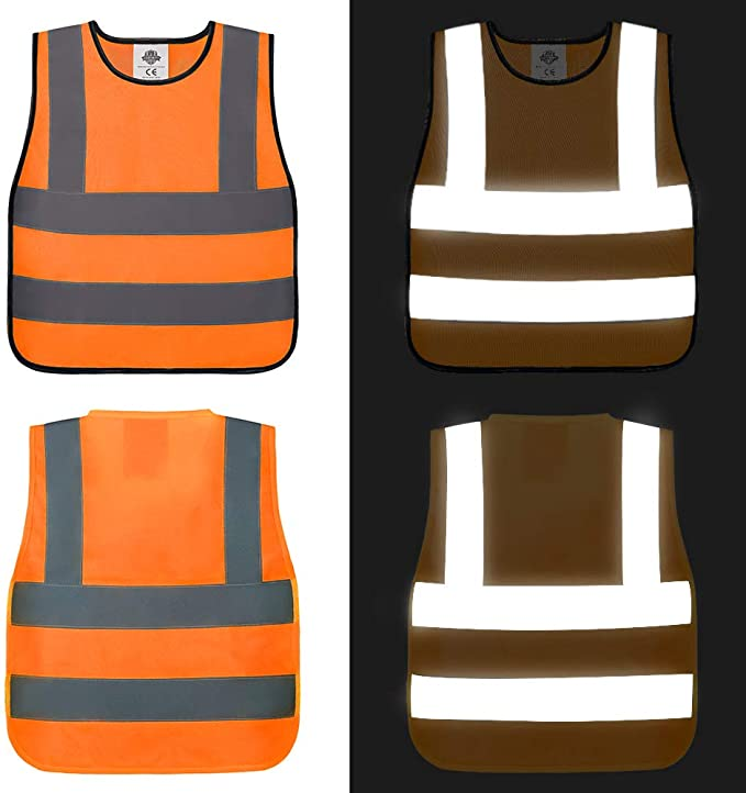 reflective safety vest for kids