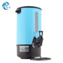 Distributeurs d'eau commerciaux à grande capacité d'acier inoxydable d'urne de chaudière à eau 8/10/12/16/20/30/35 litres