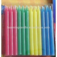 Wholesale Pencil Shape  Cake Pillar Birthday Candles