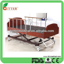 Cama de cuidados médicos a distância ajustável elétrica de alta qualidade à venda