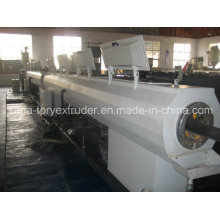 Plastic Extruder Machinery 75-160mm PP-R Pipe Extrusion Line