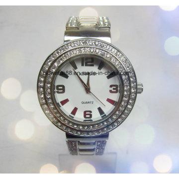 2017 Женские Часы Мода Кристалл Браслет Часы Кристалл