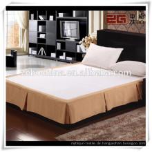 Hotel Dekoration Queen Bed Röcke mit Großhandelspreis
