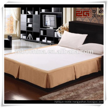 Hotel Decoration Queen Bed Skirts with Wholesale Price