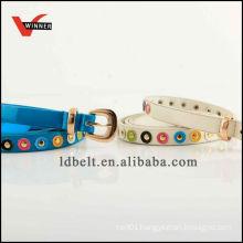 Customized durable elegant ladies fashion belts
