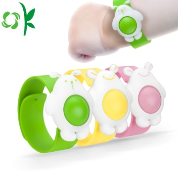 BPA Off Insect repellent Bracelets Silicone Mosquito Bands
