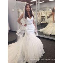 Mermaid Real Bride Wedding Dress