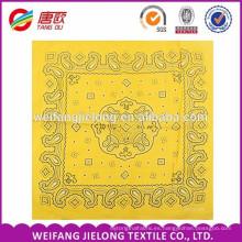 Impresión de pañuelo personalizada a medida 100% algodón