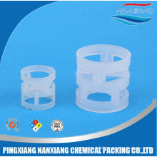 16, 25, 38, 50,76mm(PP, PE, PVC, CPVC, PVDF)packing Plastic Pall Ring