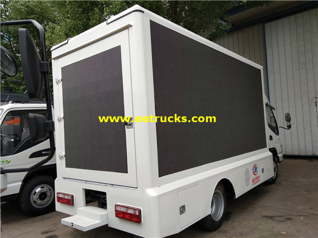 P6 LED Billboard Vehicles