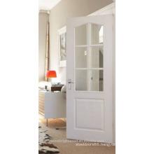 Arch Top Glazed Wood Door