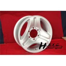 Новый 2014 новый дизайн 16-дюймовый серебристый реплик и внедорожное колесо