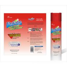 Spray de limpeza de carpetes e tecidos para tráfego intenso / intenso
