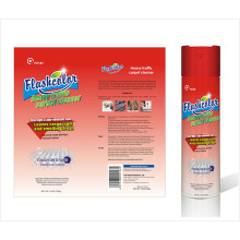 Спрей для чистки ковров и тканей с интенсивным / интенсивным движением