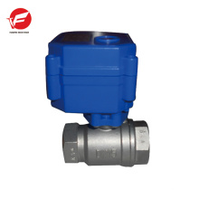 Robinet de commande de débit d'eau en plastique électrique CWX-15q