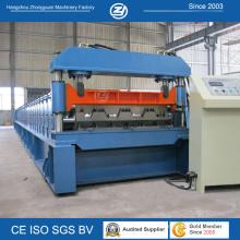 Machine de formage de rouleau de plancher Mitsubishi PLC