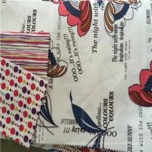 2016 Модная полиэфирная печатная ткань