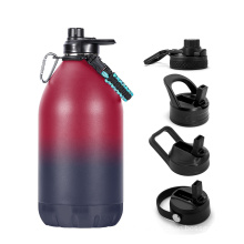 Water Bottles Gym Jug Big Capacity Stainless Steel Insulated Gallon Water Bottles