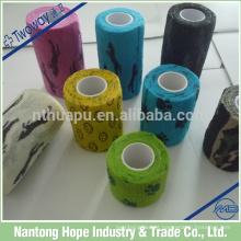 Impresso elástico autoadesivo bandagens elásticas