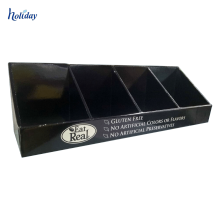 boîtes de présentation imprimées personnalisées Présentoir de table avec crochets