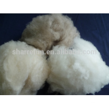 100% raw white Dehaired goat wool cashmere fiber