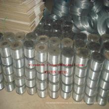 Alambre de grapado plano galvanizado plano de engrapado plano en China