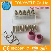 AG60 SG55 plasma nozzle and electorde