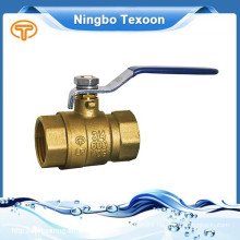 new light-duty lead free forged brass female npt ball valves with CSA NSF61 lower price