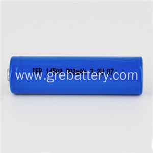 3.2V 14500 AA LiFePO4 Rechargeable Battery