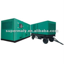 CE approved 500kw trailer diesel generator