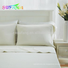 Super Luxus seidig weiche 60er 100% Tencle Bettwäsche in einfarbigen Farben