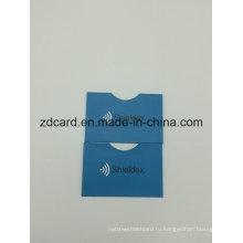 Бумага из алюминиевой фольги Бумага для кредитных карт с подарочной картой RFID