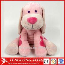 Валентина дополнительные мягкие короткие плюшевые красные сердца собака игрушка