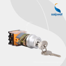 Saipwell High Quality Two-Position Key Pushbutton LAY50D-22AA1-Y