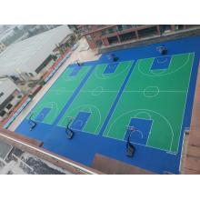 Portable Sports Floor system for basketball