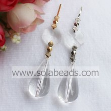 Boom 15 * 28mm Plastic Crystal licht gordijn garland Drop