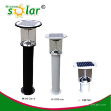 Lampes de jardin solaires CE & brevet conduit, PIR motion jardin feux, feux de jardin capteur