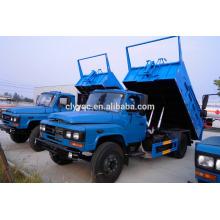 DongFeng 8cbm dump camión de basura sellado