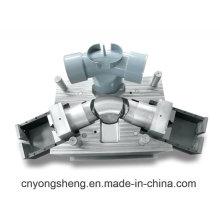 Moule convenable de raccordement de tuyau de PVC