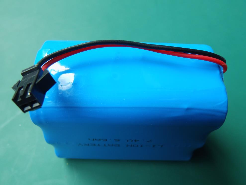 7.4V 6.6Ah rechargeable battery